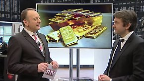n-tv Zertifikate: Gold in Euro besser als in US-Dollar?