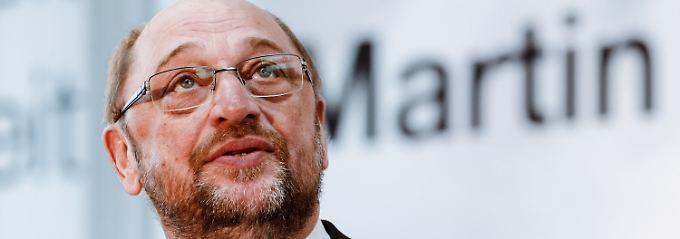 Macht der SPD wieder Hoffnung: Kanzlerkandidat Schulz.