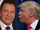 """Er ist in mich verliebt"": Schwarzenegger macht Trump an"