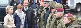 Bundesweite Anti-Terror-Übung: Von der Leyen wehrt sich gegen Kritik