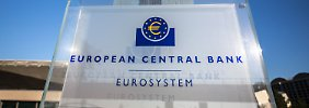 Die EZB sieht sich mit Zinsanhebungsforderungen konfrontiert.