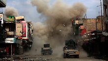 Unter Druck der Kämpfe in Mossul: IS-Chef Bagdadi soll geflohen sein