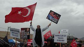 Türkische Politiker auf Wahlkampf-Tour: Ton gegenüber Deutschen ist unverändert