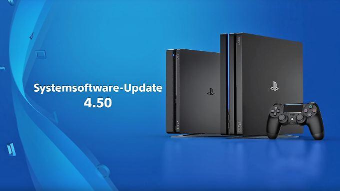 Sony Playstation 4 bekommt ein starkes Update.
