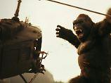 Der Riesenaffe ist wieder da: Entdecker-Schnösel stören King Kong
