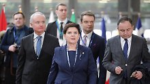 Pole bleibt Ratspräsident: Szydlo konnte Tusk nicht verhindern