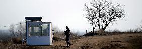 """""""Balkan-Route ist nicht dicht"""": Österreichs Regierung besorgt"""