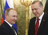 Annäherung in Moskau: Putin und Erdogan rücken enger zusammen