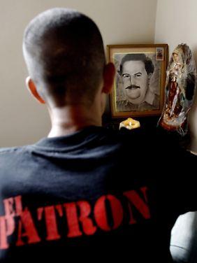 Auch heute noch wird Pablo Escobar von Teilen der kolumbianischen Bevölkerung verehrt.