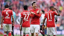 """Der FC Bayern schlampt sich zum Titel """"Gewinner des Spieltags""""."""