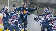 Mannheimer Fight & Köln-Klatsche: Eishockey-Meister München hat Matchbälle