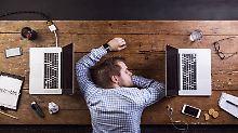 Viele Berufstätige betroffen: Immer mehr Menschen schlafen schlecht
