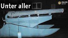 Kunstprojekt oder Waffe?: Polizei konfisziert Kokosnuss-Kanone