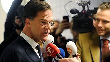 Premier braucht neue Partner: Rutte gewinnt Parlamentswahl deutlich vor Wilders