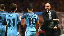 Franzosen im CL-Viertelfinale: Monaco wirft Guardiolas ManCity raus