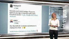 n-tv Netzreporterin: Internetnutzer schwenken die orange Flagge