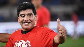 Erinnerungen werden wach: Maradonas Hand Gottes ist zurück