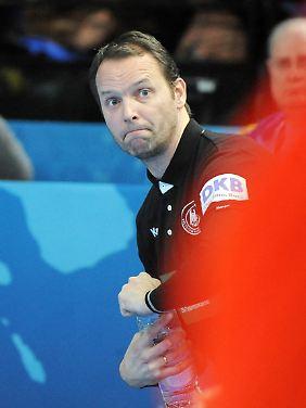 """""""Er hat eine super Mannschaft hinterlassen"""": Dagur Sigurdsson."""