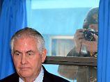 """""""Alle Optionen auf dem Tisch"""": Tillerson droht Pjöngjang mit Militärschlag"""