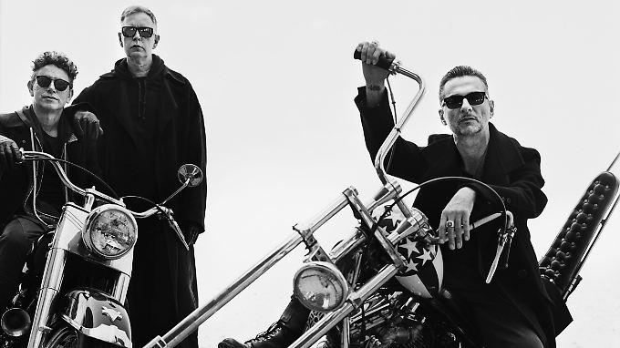 Melden sich mit Studioalbum Nummer 14 zurück: Depeche Mode.