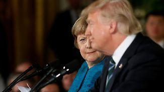 Merkel besucht Trump: Wird es so peinlich wie beim letzten Mal?