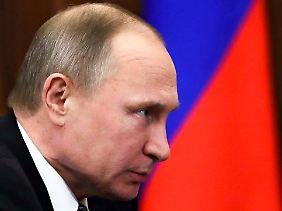 Wladmir Putin strebt eine weitere Amtszeit an.