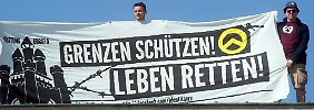 """""""Rechtsextreme Einflussnahme"""": Behörden: """"Identitäre"""" werden radikaler"""