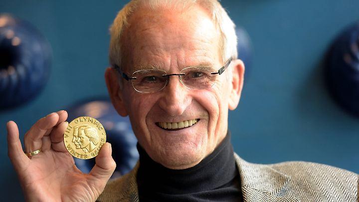 Helmut Recknagel war der erste Skisprung-Olympiasieger, der nicht aus Skandinavien kam.