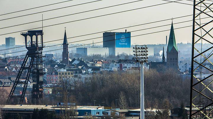 Blick über Bochum