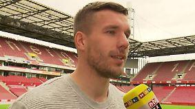 """Podolski über seinen DFB-Abschied: """"Bin wehmütig - und glücklich, dass es vorbei ist"""""""