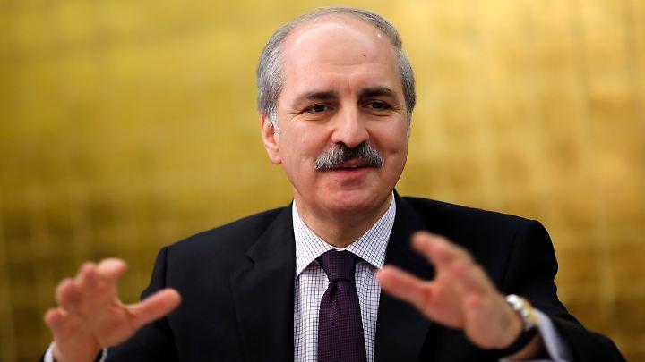 Der türkische Vizepremier Numan Kurtulmus.
