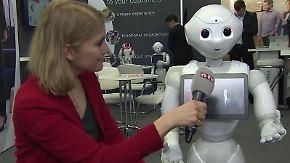 Roboterparadies Cebit: Japan lockt mit künstlicher Intelligenz