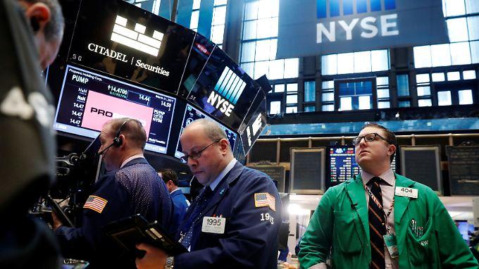 An der Wall Street ging es im Laufe des Tages bergab.