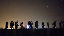 Mehr afrikanische Migranten: Polizei zählt 9000 illegale Einreisen