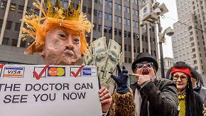Gegenwind für den US-Präsidenten: Trump droht den eigenen Leuten