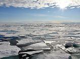 Temperatur über dem Durchschnitt: Arktis-Eisdecke so klein wie nie