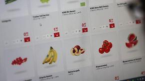 Lebensmittel im Internet: online bestellen, offline liefern lassen.