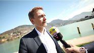 """Christian Lindner im n-tv Interview: """"Die Bundesregierung ist sehr lasch"""""""