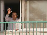 Aus Militärkrankenhaus entlassen: Ägyptens Ex-Machthaber Mubarak ist frei