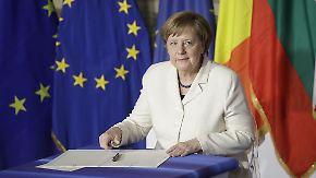 """EU-Staaten demonstrieren Einheit in Rom: Merkel: """"Verschiedenheit macht unsere Stärke aus"""""""
