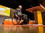 Wolfgang Schäuble ist ein Urgestein der Christdemokraten. An Ruhestand denkt der 76-Jährige noch lange nicht.