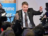 """Geheimer AfD-Chat geleakt: Poggenburg: """"Deutschland den Deutschen"""""""