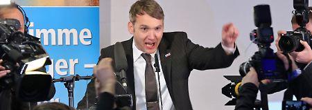 Pfui-Buh-Rufe beim Parteitag: AfD in Sachsen-Anhalt trägt Machtkampf aus