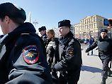 Tausende Russen demonstrieren: Kreml-Kritiker Nawalny festgenommen