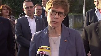 """Kramp-Karrenbauer zur Saarland-Wahl: """"Flirtereien mit Rot-Rot kommen nicht gut an"""""""
