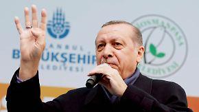 """""""Ihr seid Faschisten"""": Erdogan schickt neue Nazi-Vorwürfe nach Europa"""