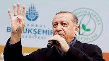 """""""Ihr seid Faschisten"""": Erdogan poltert weiter gegen Deutschland"""