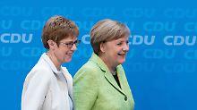 """""""Nach der Wahl ist vor der Wahl"""": Merkel bleibt realistisch"""