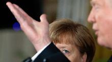 """Dementi aus Berlin: """"Trump hat Merkel keine Rechnung gegeben"""""""