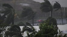 "Sturmflut angekündigt: Zyklon ""Debbie"" fegt über Australien hinweg"